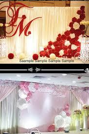 wedding backdrop ebay 100 amazing wedding backdrop ideas paper flowers wedding paper