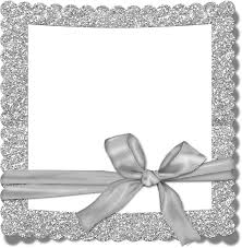 halloween border transparent background transparent silver photo frame with bow gallery yopriceville