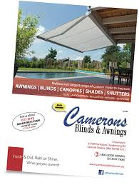 Awning Repairs Melbourne Camerons Blinds U0026 Awnings Our Products U0026 Services