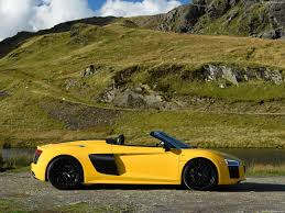 Audi R8 Yellow - audi r8 spyder v10 2017 picture 38 of 195