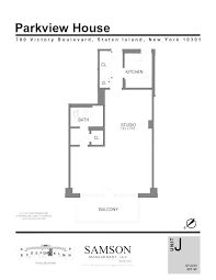 Parkview Floor Plan Parkview House Rentals Staten Island Ny Apartments Com