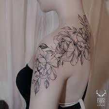 best 25 black flower tattoos ideas on pinterest tattoo ideas