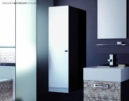 Tall Bathroom Cabinet by Tall Bathroom Cabinet With Glass Doors Creative Cabinets