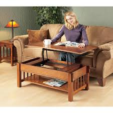 mission style lift top coffee table 127270 living room at plans
