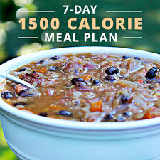 7 day 1500 calorie meal plan skinny ms