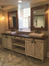 the modern farmhouse bathroom sink vanity pertaining to residence