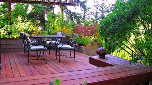 beautiful small backyard deck designs youtube