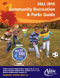 fall 2016 community recreation u0026 parks guide by town of ajax issuu