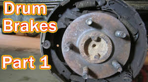diy ford ranger drum brake replacement how to replace rear drum