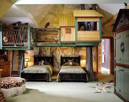 Children S Room Interior Images Cool Interior Kids Bedroom With The Tree House Style Children U0027s