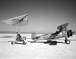 Eclipse Patricia Curtains by Paresev 1 A On Lakebed With Tow Plane Nasa Image And Library