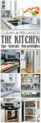 clean and organize the kitchen february hod printables how clean and organize the kitchen february household organization diet everything