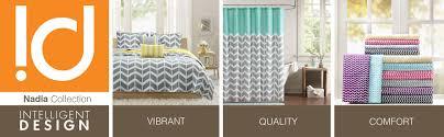 amazon com intelligent design nadia comforter set full queen
