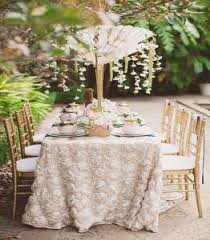 renting table linens tablecloth rentals ta wedding linen overlays spandex