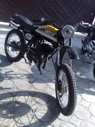 vintage yamaha motocross bikes rx dirt bike mod vintage scrambler page 3 team bhp