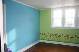 split your colors with two toned walls painting walls 2 different