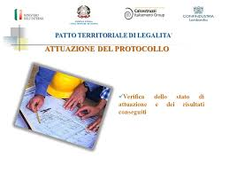 ufficio protocollo ufficio territoriale governo patto territoriale di legalita