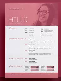 Good Resume Designs 50 Awesome Resume Templates 2016 U2022