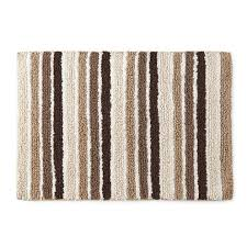 Cotton Bath Rugs Reversible Mohawk Home Cotton Reversible Stripe Bath Rug Collection