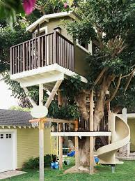Backyard Playhouse Ideas 37 Best Tree Play Houses Images On Pinterest For Girls