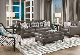 grey leather living room furniture u2013 modern house