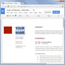 How Create Resume For A Job by How To Make A Resume For Free Without Using Microsoft Office