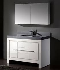Exellent Modern White Bathroom Cabinets In With Natural Throughout - White vanities for bathrooms