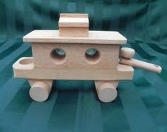 handcrafted wooden build your own full train kit set engine