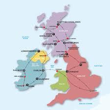 map uk ireland scotland visit scotland ireland sta travel great britain