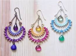 post style earrings chandelier earrings tutorial the beading gem s journal