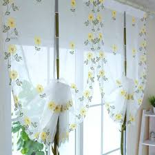 ergonomic sunflower kitchen curtains 124 sunflower kitchen