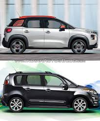Citroen C3 Aircross Vs Citroen C3 Picasso Old Vs New