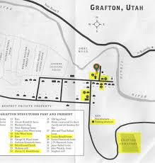 Utah Parks Map by Grafton Ghost Town Grafton Ut Near Zion National Park