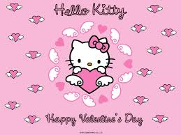 hello valentines day hello happy valentines day wallpaper hellokitty
