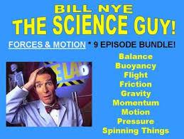 bill nye the science guy forces u0026 motion set 9 video worksheets