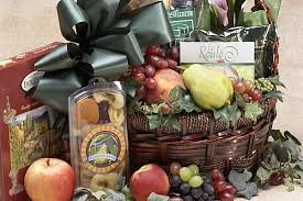fruit and cheese gift baskets fancifull gift baskets los angeles california