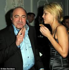Close friend: Boris Berezovsky, pictured with acquaintance Annika Ancverina, was among the clients of lawyer Stephen Curtis - article-1200525-05BE8695000005DC-932_468x473
