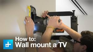 sanus wall mount replacement parts how to wall mount a tv with the sanus full motion vmf322 b1 youtube