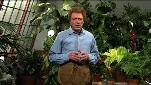 christopher walken plays a gardener who is afraid of plants in old