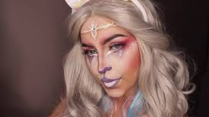 Unicorn Makeup Halloween by Unicorn Tears Halloween Makeup Youtube
