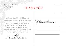 thank you postcards wedding ideas wedding ideas postcard template thank