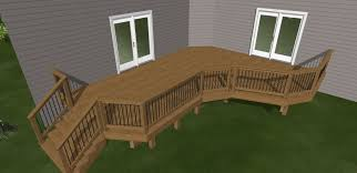 L Shaped Stairs Design Outdoor Deck Stair Ideas Deck Stairs Design Ideas For Your Condo