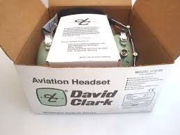 clark h10 66 aviation headset dual impedance u174 plug