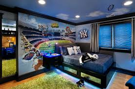 Sports Themed Wall Decor - 47 really fun sports themed bedroom ideas home remodeling