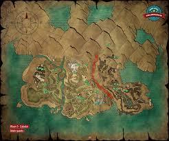 Fenn Treasure Map Map Main Quests Calador Risen 3 Titan Lords Game Guide