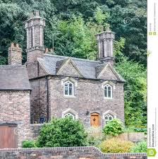 small english stone cottage royalty free stock images image