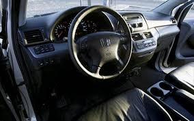 2005 honda odyssey interior 2005 honda odyssey touring term test review update motor