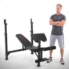 Weight Bench Leg Exercises Marcy Club Olympic Weight Bench Mkb 733 Quality Strength Products