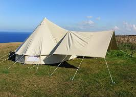 Bell Tent Awning Large Awning Cool Canvas Tent Company