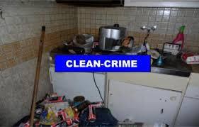 cuisine insalubre le réconfort de nettoyage reconnue dans un environnement insalubre
